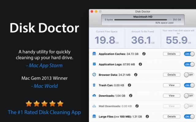 Disk Doctor For MacoSX