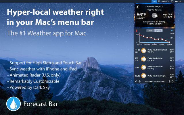 Forecast Bar Mac Free