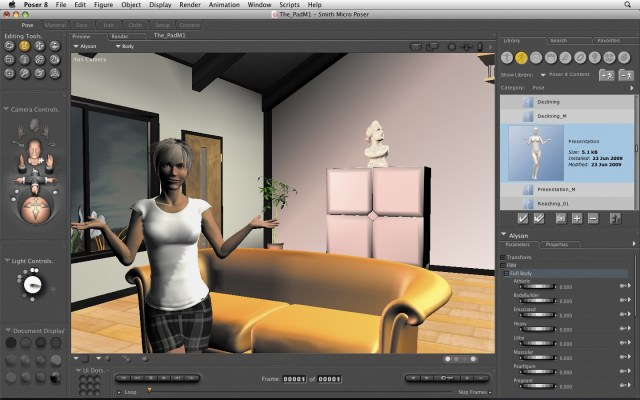 Poser Pro For MacOSX