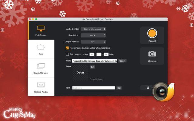 AV Recorder & Screen Capture For Mac OS