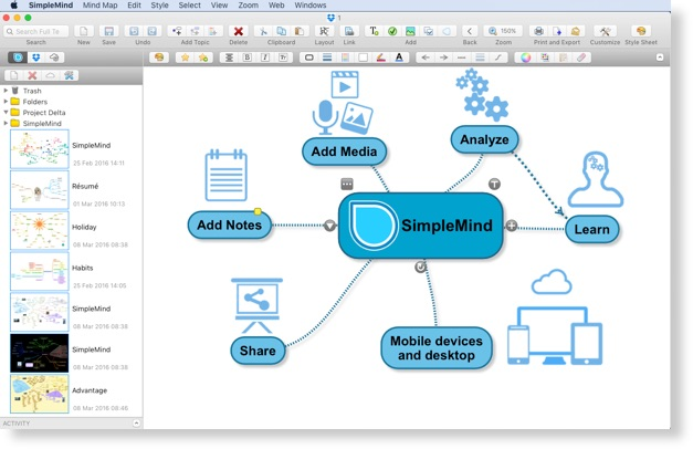 SimpleMind For MacOSX