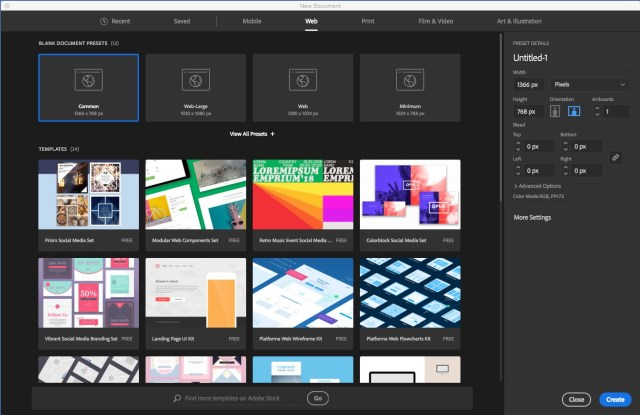 Adobe Illustrator CC 2019 screenshot