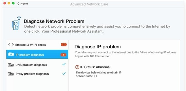 Advanced Network Care For mac full version