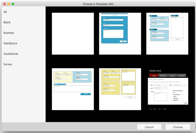 Touch Forms Pro mac free download