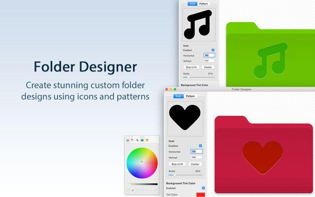 Folder Designer mac