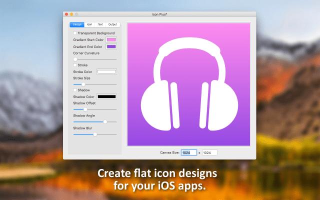 Icon Plus mac