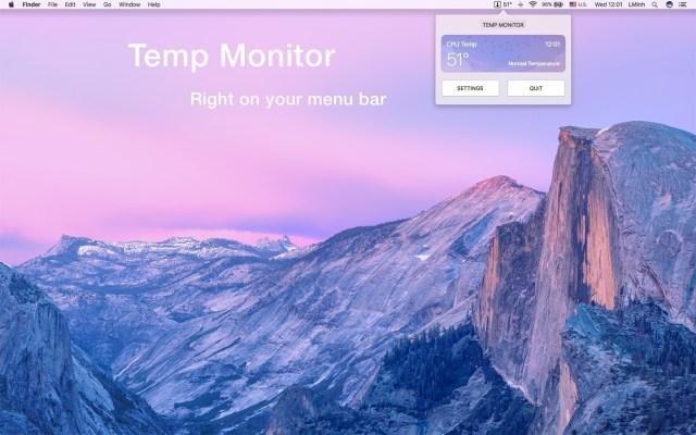 Temp Monitor mac