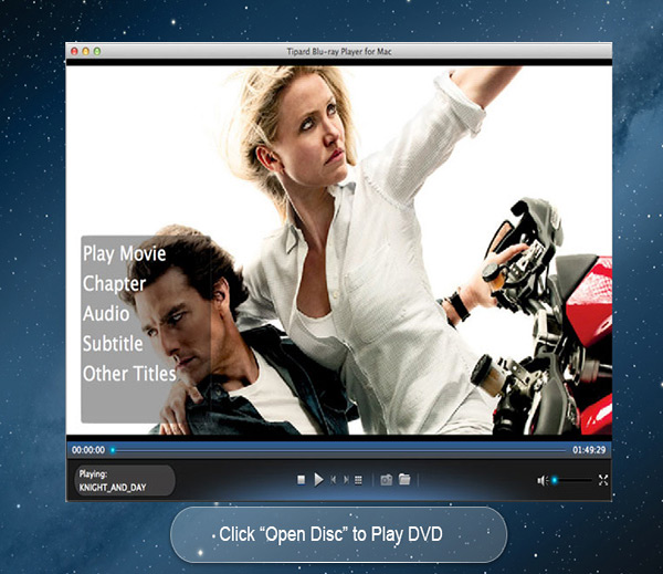 Tipard Blu-ray Player mac