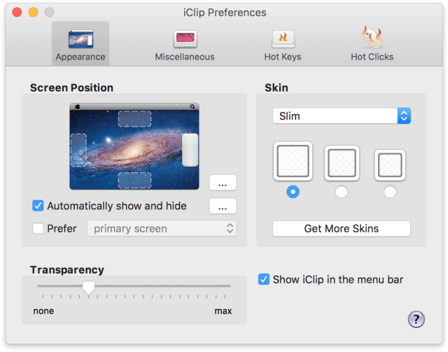 iClip mac