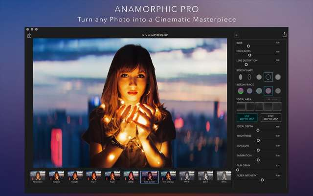 Anamorphic mac