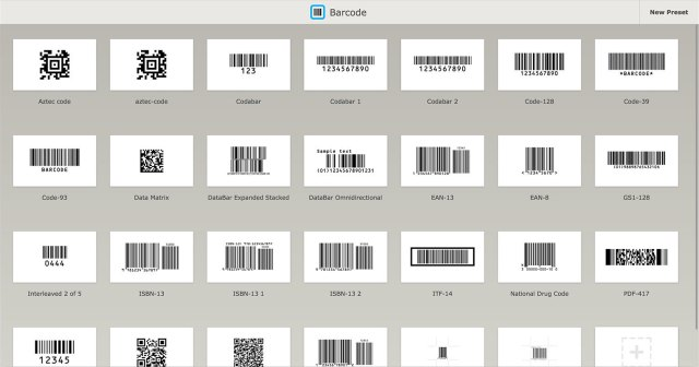 Barcode mac