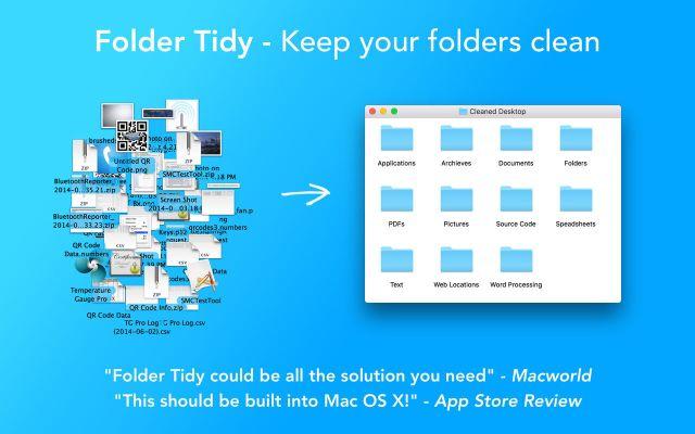 Folder Tidy mac