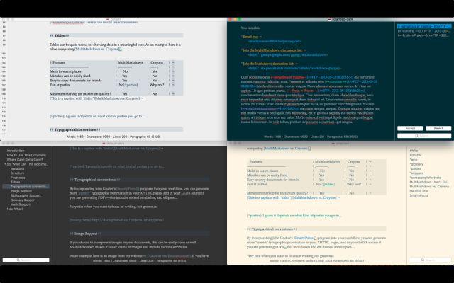 MultiMarkdown Composer Mac