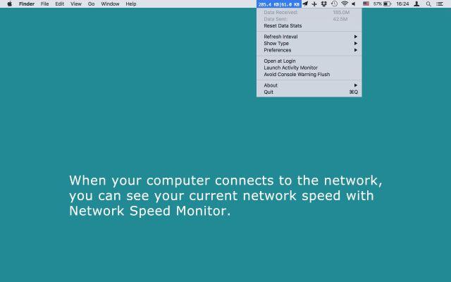 Network Speed Monitor mac