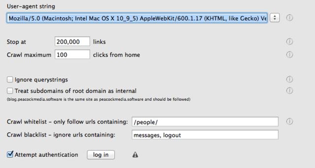 WebScraper mac