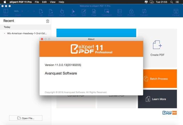 Avanquest Expert PDF Mac