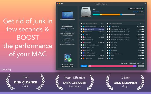 Pro Disk Cleaner Mac