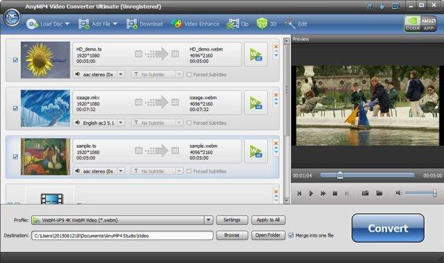 AnyMP4 Mac Video Converter Mac