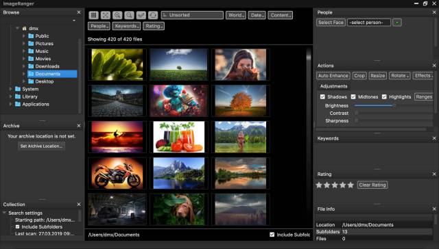 ImageRanger Pro Mac