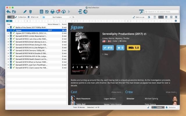 Movie Collector Mac