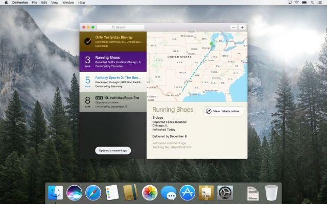 Deliveries Mac