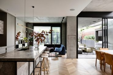 Inside the striking Melbourne home of developer Bear Agushi