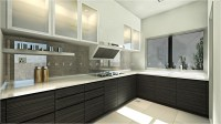 Sentosa Modern Wet Kitchen Design  Get Interior Design Online