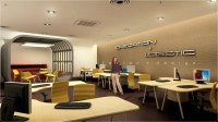 3D Open Office Design with Feature Meeting Area Kuala ...