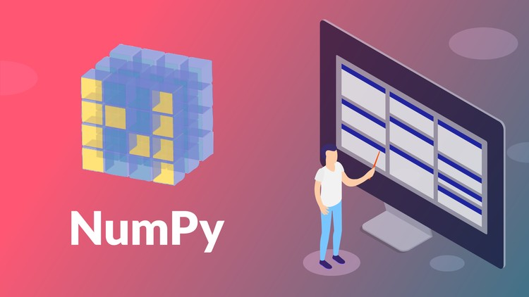 [100% OFF] 100+ Exercises – Python Programming – Data Science – NumPy