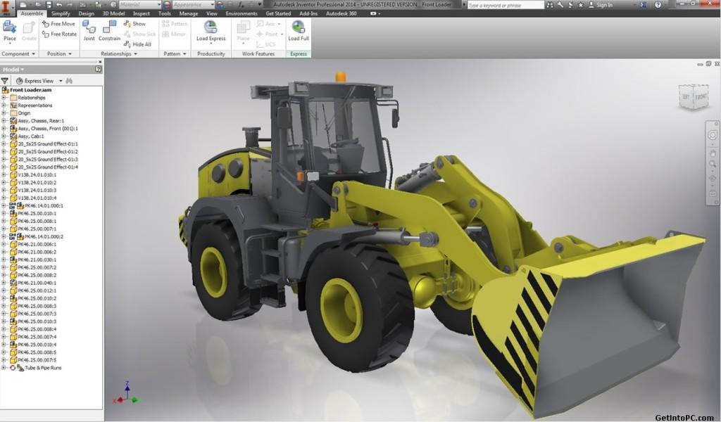 Download AutoDesk Inventor Professional 2014 Free Setup 32 Bit, 64 Bit