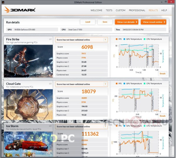 Futuremark 3DMark Pro Edition Free Download