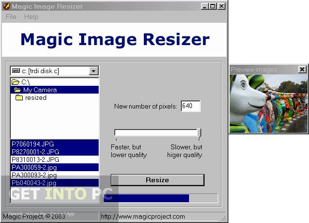 Magic Image Resizer Portable Free Download