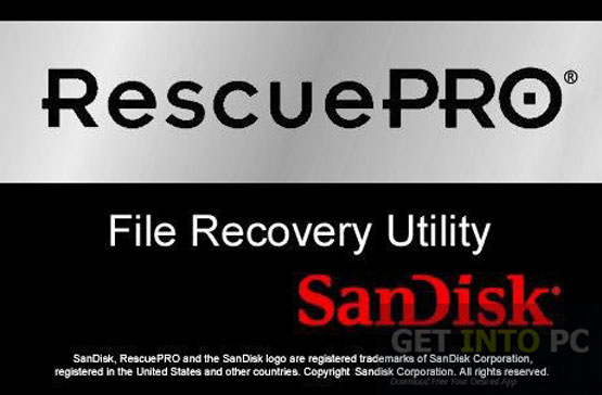 SanDisk RescuePRO Deluxe Free Download