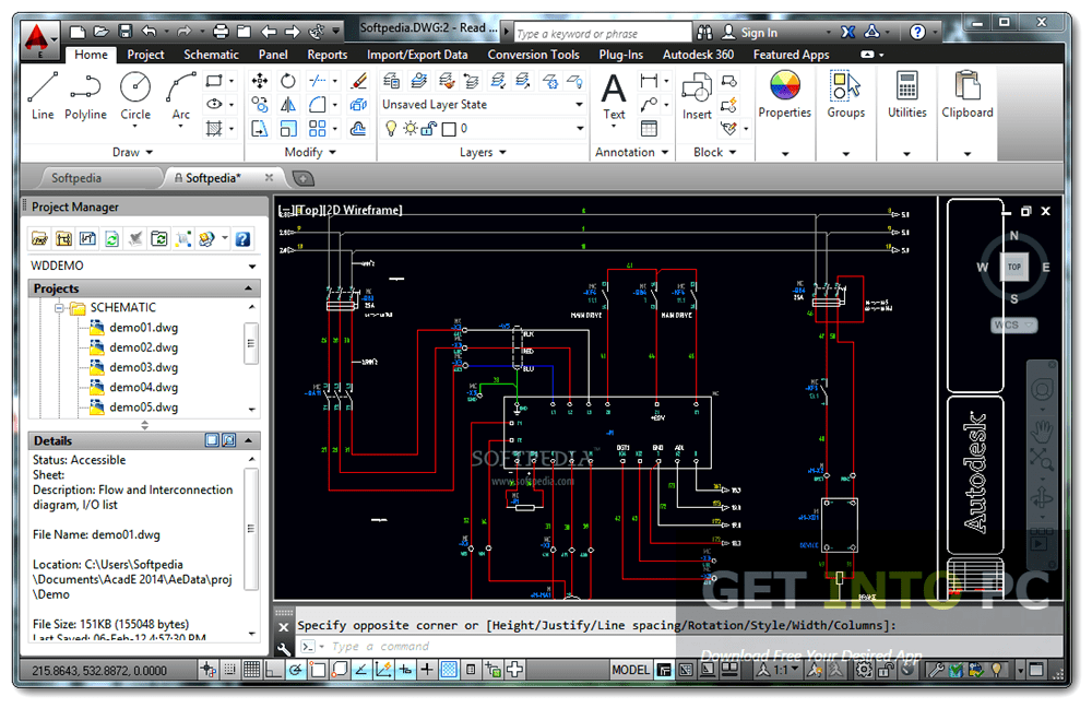 AutoCAD Electrical v2017 64 Bit ISO Free Download