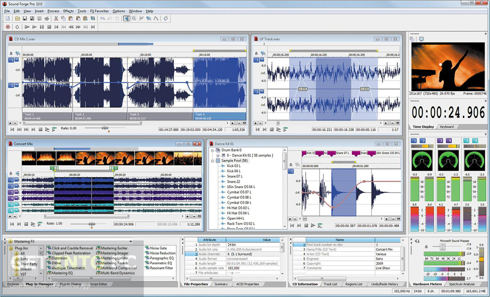 MAGIX Sound Forge Pro 11 Free Download
