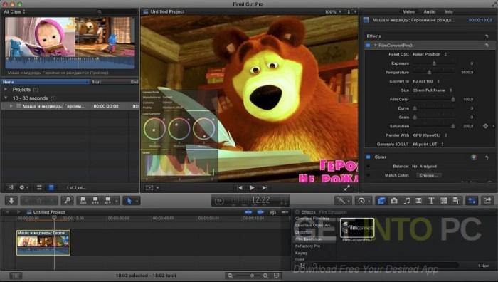 FilmConvert Pro 2.12 Plugin Free Download