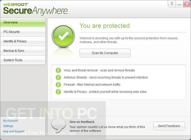 Webroot SecureAnywhere AntiVirus 9 Free Download