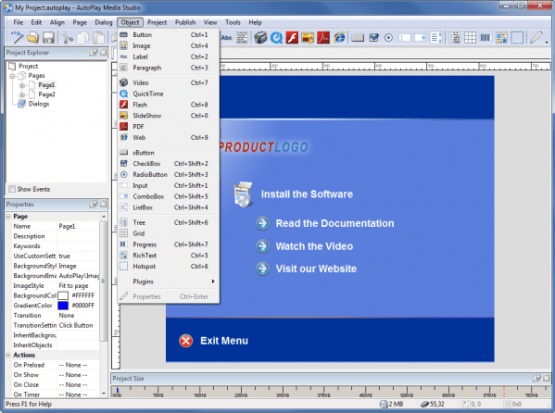 Indigo Rose AutoPlay Media Studio 8 Offline Installer Download