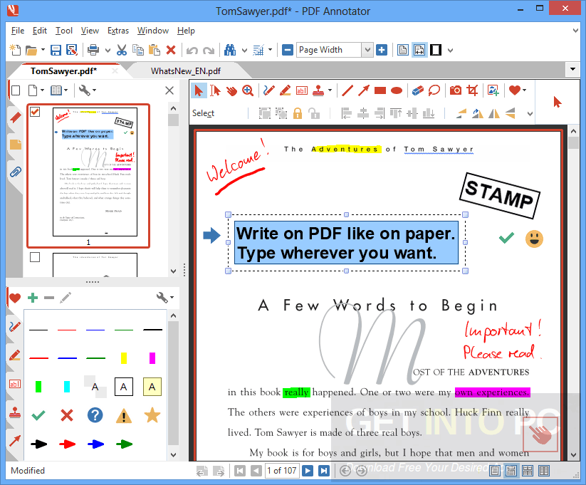 PDF Annotator Portable Free Download