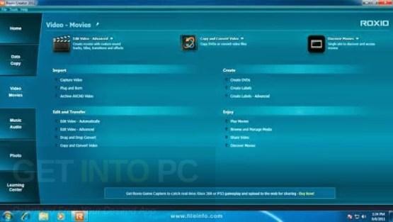 Roxio Creator NXT Pro 3 Direct Link Download