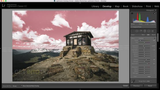 Adobe Photoshop Lightroom Classic CC 2018 Setup Download For Free