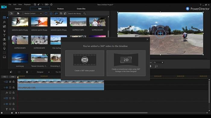 CyberLink PowerDirector Ultimate 16 Free Download
