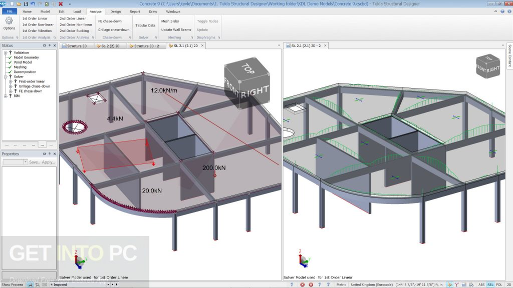Tekla Structural Designer 2018 Free Download