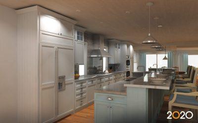 kitchen bathroom software interior designs cabinet cabinets layout 3d modern remodel program 2020spaces streamline light designing lighting island softwares features