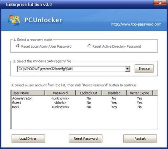 PCUnlocker WinPE 3.8.0 Enterprise Edition Direct Link Download