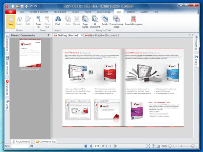 Soda PDF 5 Pro + OCR Latest Version Download
