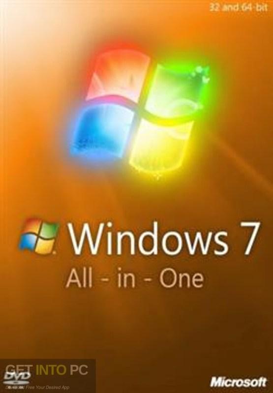 Windows 7 AIO 32 64 Bit Feb 2019 Free Download-GetintoPC.com
