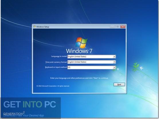 Windows 7 Ultimate 32 64 Bit Updated Aug 2020 Screenshot 1-GetintoPC.com
