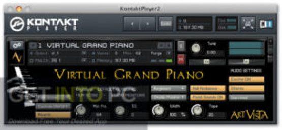Art Vista the Virtual Grand the Piano 2.3 (the Kontakt) Latest Version Download-GetintoPC.com