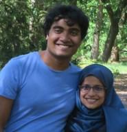 Abu Niyam & his wife Reffat Ara Shegufa